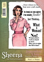 What A Woman Stamp Set Remember When Collection